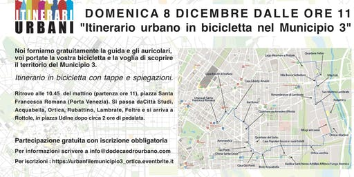 Itinerario in bici Municipio 3 - ORTICA