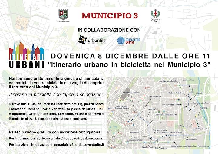 Immagine Itinerario in bici Municipio 3 - ORTICA