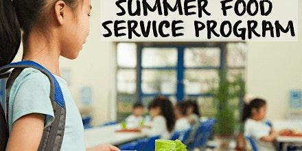 SUMMER FOOD SERVICE PROGRAM TRAINING 2020