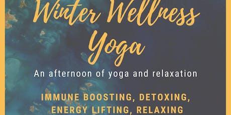 Winter Wellness Yoga tickets