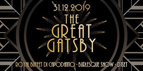 Capodanno a Milano - The Great Gatsby biglietti