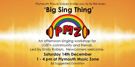 Plymouth Proud Voices 'Big Sing Thing' at PMZ