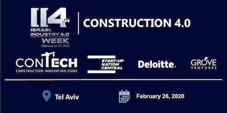 Construction 4.0 tickets