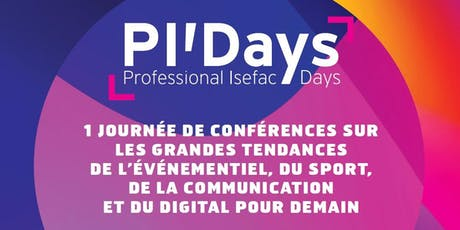 Save the Date: Professional ISEFAC Days de Bordeaux billets
