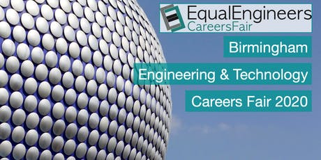 Birmingham Engineering & Tech Careers Fair 2020 tickets