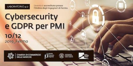 Laboratorio 4.0 | Cybersecurity  e GDPR per PMI biglietti