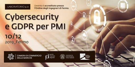 Laboratorio 4.0 | Cybersecurity  e GDPR per PMI