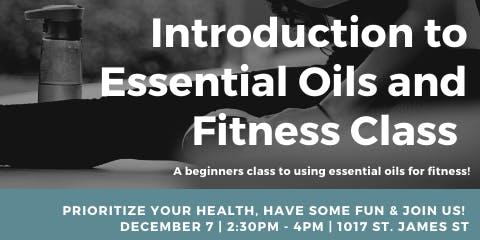 Essential Oils for Fitness Class