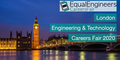 London Engineering & Tech Careers Fair 2020 tickets