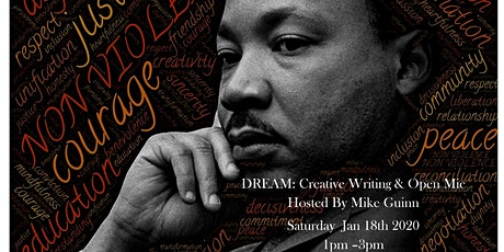 The MLK CREATIVE WRITING WORKSHOP & OPEN MIC tickets
