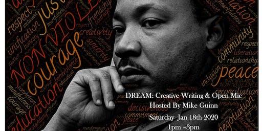 The MLK CREATIVE WRITING WORKSHOP & OPEN MIC