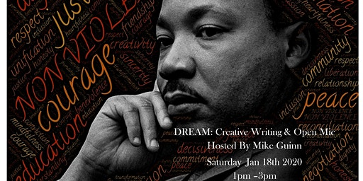 The MLK CREATIVE WRITING WORKSHOP & OPEN MIC