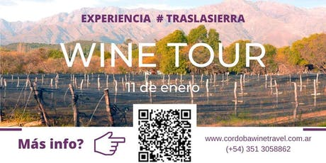Wine Tour Traslasierra - 11 de enero entradas