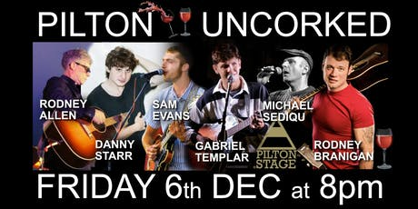 PILTON UNCORKED tickets