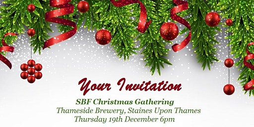 FREE SBF Christmas Gathering at Thames Side Brewery