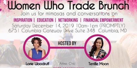 Women Who Trade Brunch tickets