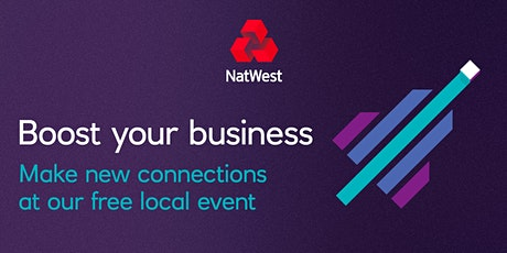 INFO ONLY --HOLD THE DATE NatWest & Nelson Myatt - Women in Business Networking Group Lunch tickets