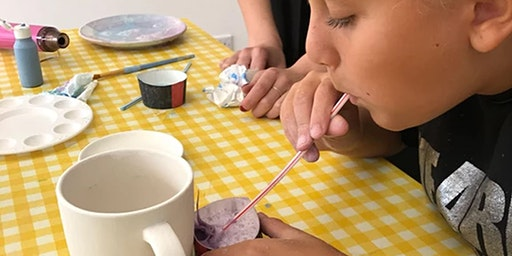 Children Pottery Painting  - Friday Registration