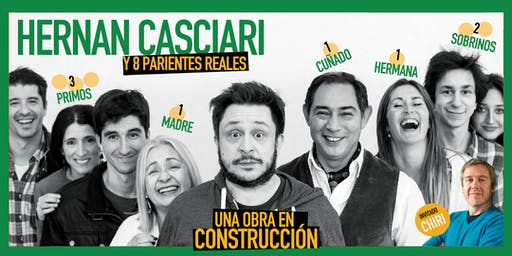 «Una obra en construcción», de H. Casciari ✦ DOM 19 ENE, CC Konex (CABA)