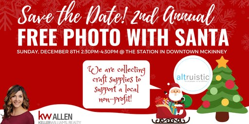 Free Photos with Santa - 2nd Annual Event!