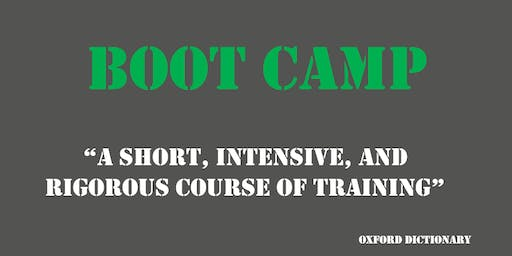 New Year - New You:  Research Profile Bootcamps