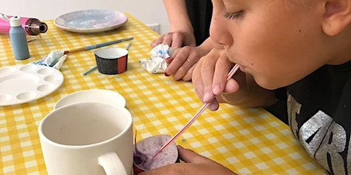 Children Pottery Painting  - Saturday Registration