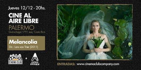 Cine al Aire Libre: MELANCOLIA (2011) - Jueves 12/12 entradas