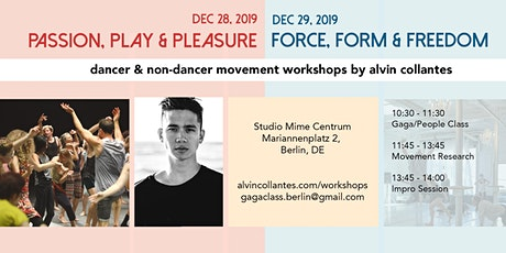 Movement Workshops by Alvin Collantes tickets