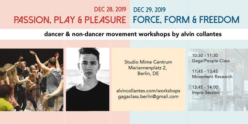 Movement Workshops by Alvin Collantes
