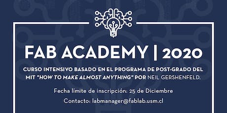 Fab Academy boletos
