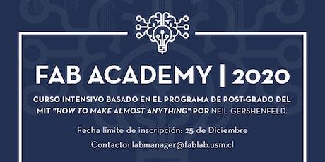 Fab Academy entradas