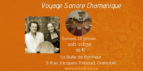 Voyage Sonore Chamanique billets