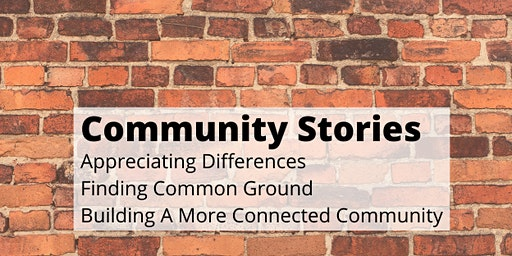 Community Stories hosted by Emiko Moore (Sun. Jan 19, 2020)