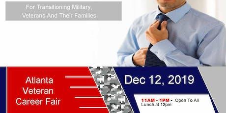 Atlanta Veteran Job Fair (Ft Gillem) - Dec 2019 tickets