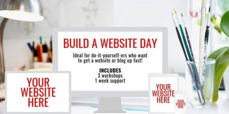 Build a Website Day tickets