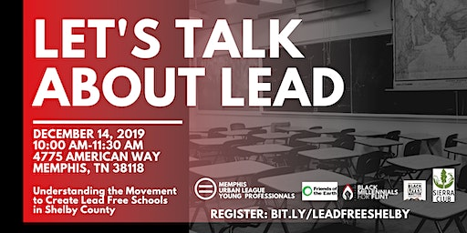 Let's Talk About Lead