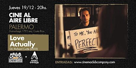 Cine al Aire Libre: LOVE ACTUALLY (2003) - Jueves 19/12 entradas
