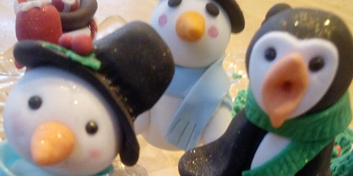 Christmas cake toppers, Prosecco & cake!