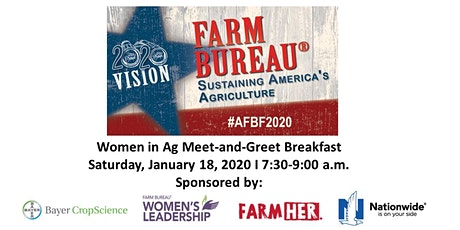 Women in Ag Meet-and-Greet Breakfast tickets