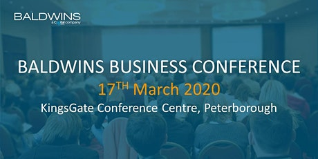 Baldwins Business Conference 2020 tickets