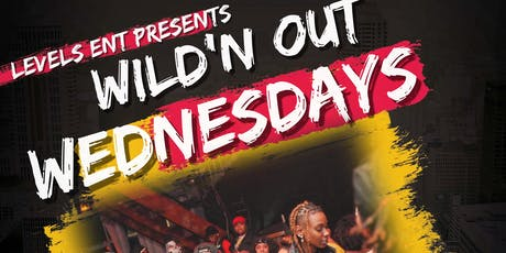 WILD'N OUT WEDNESDAYS!!!!  GAME NIGHT & KARAOKE!! POOL TABLE, CARD TABLE!! tickets