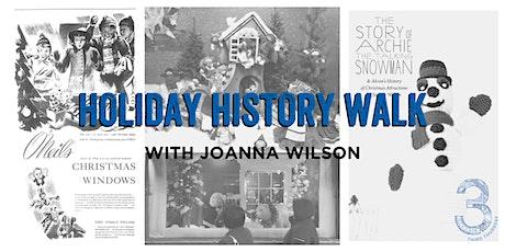 Holiday History Walk tickets