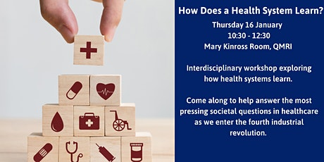 How Does a Health System Learn? tickets