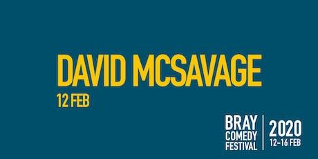 David Mc Savage tickets
