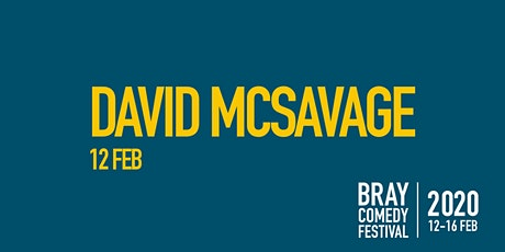 David Mc Savage tickets