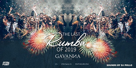 The Last Rumba of 2019 tickets