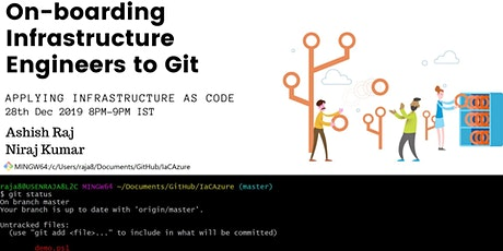 [Webinar] On-boarding Infrastructure teams to Git for Infrastructure as Code practices tickets
