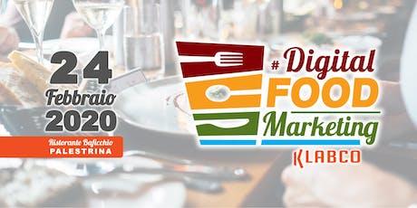 KLABCO - DIGITAL FOOD MARKETING WORKSHOP biglietti