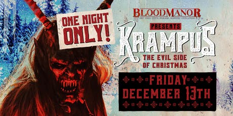 Blood Manor 2019: Krampus Holiday Experience tickets