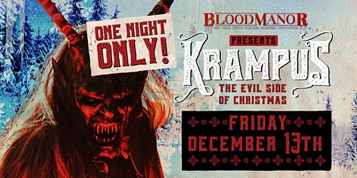 Blood Manor 2019: Krampus Holiday Experience